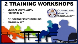 Training Workshops Feb 19th - Peoples